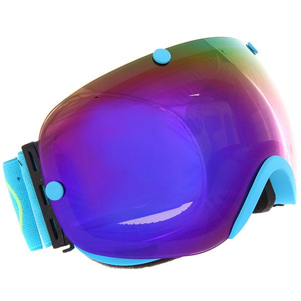 Маска для сноуборда Vizzo Spherix Blue Ionized/Blue маска для сноуборда dragon apxs splatt pink ionized ionized