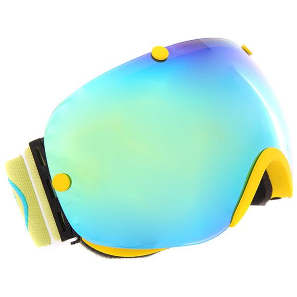Маска для сноуборда Vizzo Spherix Gold Mirror/Yellow