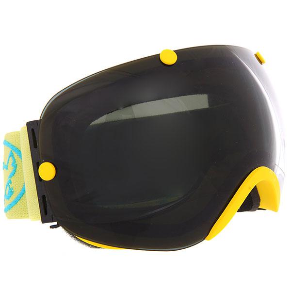Маска для сноуборда Vizzo Spherix Dark Smoke Mirror/Yellow<br><br>Цвет: желтый,черный<br>Тип: Маска для сноуборда<br>Возраст: Взрослый<br>Пол: Мужской