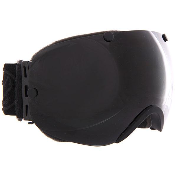 Маска для сноуборда Vizzo Spherix Dark Smoke Mirror<br><br>Цвет: черный<br>Тип: Маска для сноуборда<br>Возраст: Взрослый<br>Пол: Мужской