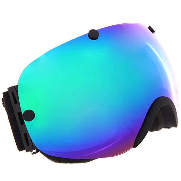 Маска для сноуборда Vizzo Vizzo Spherix Green Mirror/Black маска для сноуборда dragon mdx nerve green ionized clear aft