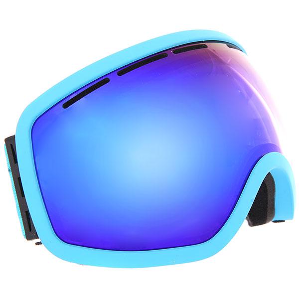 Маска для сноуборда Vizzo Vizzo Phantom Blue Ionized/Blue маска для сноуборда dragon apxs splatt pink ionized ionized