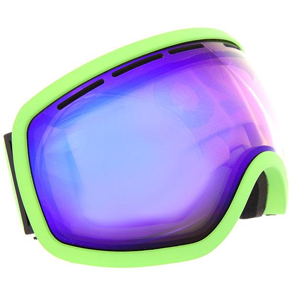 Маска для сноуборда Vizzo Phantom Blue Ionized/Green маска для сноуборда dragon apxs splatt pink ionized ionized