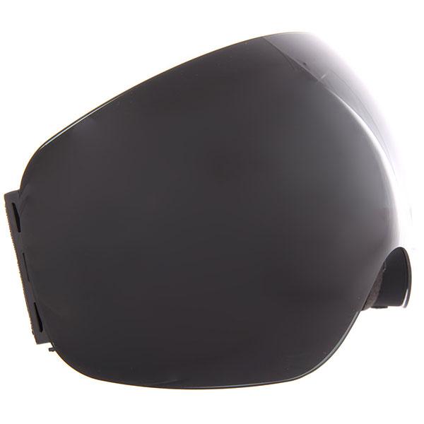 Маска для сноуборда Vizzo Flame Dark Smoke Mirror/Black<br><br>Цвет: черный<br>Тип: Маска для сноуборда<br>Возраст: Взрослый<br>Пол: Мужской