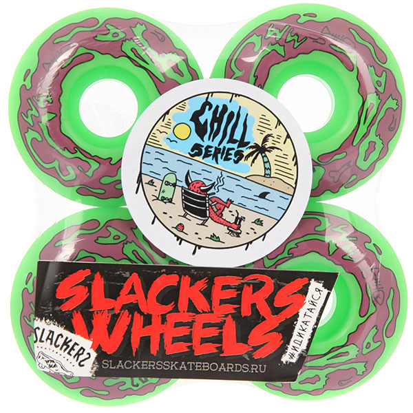 Колеса для скейтборда Slackers Chill Series Vomit 90A 53 mm nce6990 to 220 69v 90a