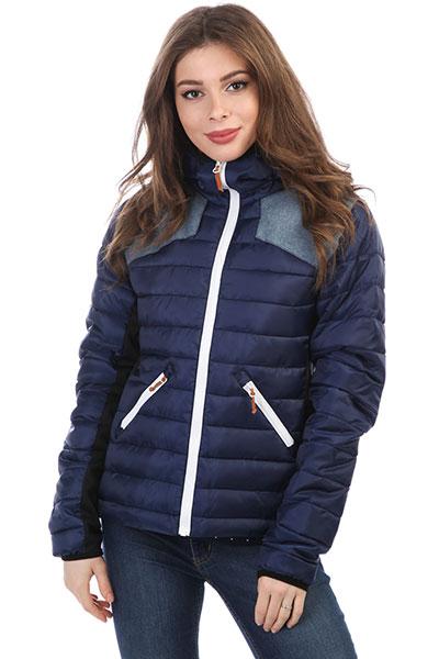 Куртка женская WearColour Cub Midnight BlueУниверсальная куртка для холодных осенних и зимних дней. Благодаря утеплителю и технологии CloudFill вы останетесь в тепле и сухости.Технические характеристики: Облегченный полиэстер ripstop 380T и полиэстер Оксфорд в области плеча.Стеганый дизайн.Утеплитель high loft 200 гр.Технология CloudFill обеспечит сухость и тепло.Эластичные боковые панели для мобильности.Экологичная пропитка без ПФУ.Приталенный крой.Боковые карманы на молнии.Отделка капюшона и рукавов из лайкры для плотного прилегания.Застежка на молнию Vislon.<br><br>Цвет: синий<br>Тип: Куртка<br>Возраст: Взрослый<br>Пол: Женский