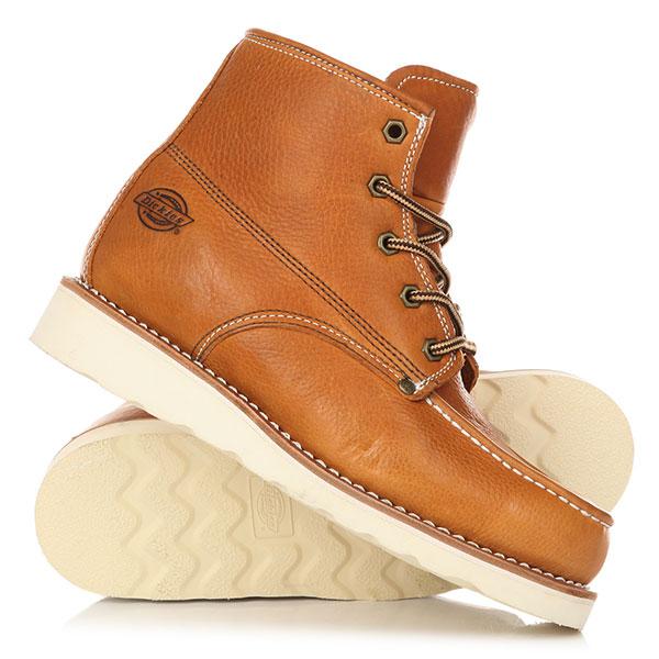 Ботинки высокие Dickies Illinois ChestnutМужские ботинки из высококачественной кожи в конструкции Goodyear welt для большей надежности и практичности.Технические характеристики: Высококачественная кожа.Подкладка Cambrelle обладающая высокими гигроскопическими свойствами.Мягкая стелька.Контрастная строчка.Конструкция Goodyear welt для большей надежности.Рифленая подошва из EVA.<br><br>Цвет: коричневый<br>Тип: Ботинки высокие<br>Возраст: Взрослый<br>Пол: Мужской