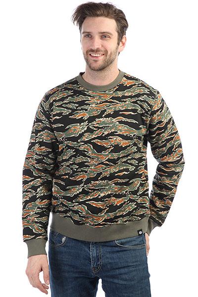 Толстовка классическая Dickies North Prairie Tiger Camo<br><br>Цвет: черный,зеленый,коричневый<br>Тип: Толстовка классическая<br>Возраст: Взрослый<br>Пол: Мужской