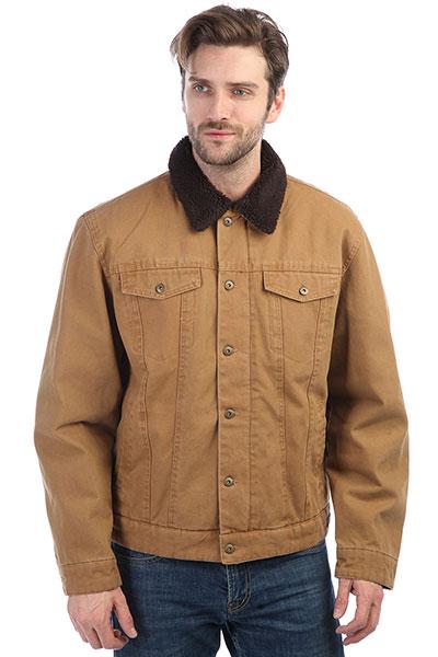 Куртка Dickies Glenside Brown DuckНастоящая куртка из прочного хлопка в Американском стиле.Технические характеристики: Прочный хлопок.Подкладка из шерпы.Отложной воротник.Нагрудные карманы, карманы для рук и потайной карман.Застежка на молнию с ветрозащитным клапаном.<br><br>Цвет: коричневый<br>Тип: Куртка<br>Возраст: Взрослый<br>Пол: Мужской
