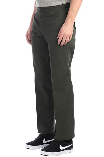 Штаны прямые Dickies Original 874 Work Pant Olive Green<br><br>Цвет: зеленый<br>Тип: Штаны прямые<br>Возраст: Взрослый<br>Пол: Мужской