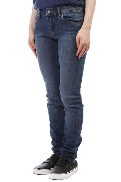 Джинсы узкие женские Element Sticker Junkyard Wash джинсы прямые element continental haze wash