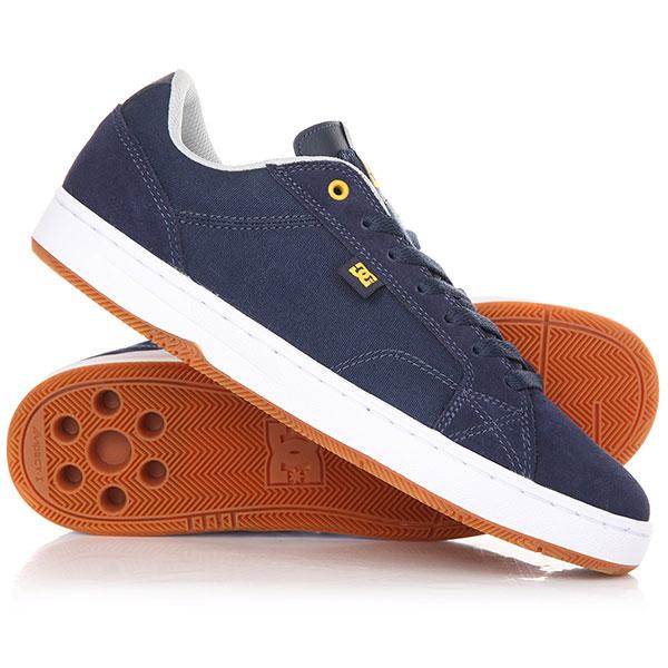 Кеды кроссовки DC Astor M Shoe Navy/Yellow кеды кроссовки низкие dc evan smith burgundy