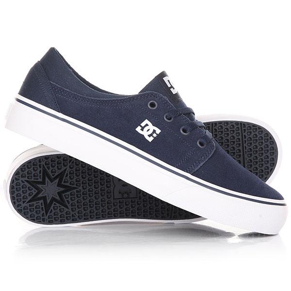 Кеды кроссовки детские DC Trase B Shoe Navy dc shoes кеды dc heathrow se 11