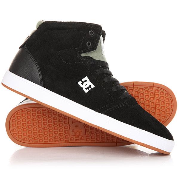 Кеды кроссовки высокие DC Crisis High M Shoe Black/Olive кеды кроссовки низкие dc evan smith burgundy