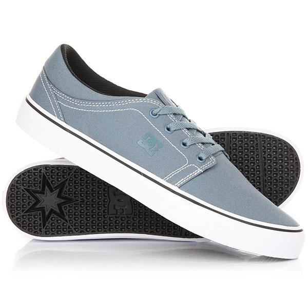 Кеды кроссовки DC Trase M Shoe Blue AshesКлассика в чистом виде. Черный кожаный верх и стиль, который ни с чем не спутать.Без сомнения, это одна из самых узнаваемых и комфортных моделей скейтовых кед. Лаконичный дизайн, не перегруженный лишними деталями, комфортная и цепкая подошва, все в этой модели направлено на то, чтобыВаше катание приносило лишь положительные эмоции. Характеристики:Чистый бесшовный дизайн носа.Фирменный цепкий протектор Pill Pattern. Вулканизированная конструкция подошвы. Нашивка с фирменным логотипом на язычке. Металлические люверсы шнуровки. Плоские шнурки. Нанесенный сбоку фирменный логотип. Резиновый логотип на задней части подошвы. Материал верха: натуральная кожа.<br><br>Цвет: голубой<br>Тип: Кеды<br>Возраст: Взрослый<br>Пол: Мужской