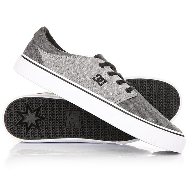 Кеды кроссовки DC Trase TX M Shoe Black/Battleship кеды кроссовки высокие dc council mid tx stone camo