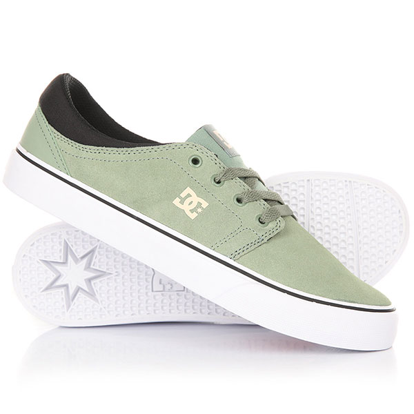Кеды кроссовки DC Trase M Shoe Olive dc shoes кеды dc heathrow se 11