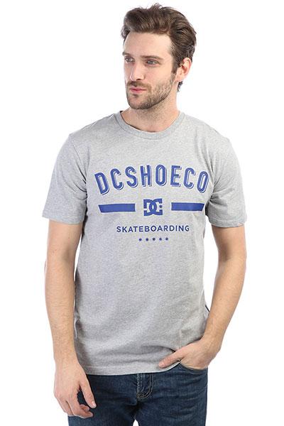 Футболка DC Last Stand Grey Heather рубашка в клетку dc woodale deep dyed heather grey