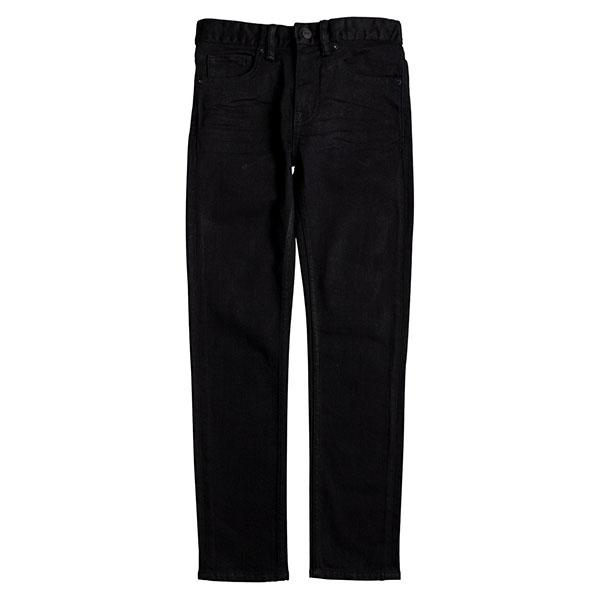 Джинсы узкие детские DC Worker Slim Black джинсы узкие мужские зауженные insight buzzcock slim black acid