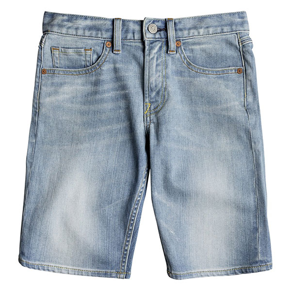 Шорты джинсовые детские DC Worker Straight Light Indigo Bleach<br><br>Цвет: синий<br>Тип: Шорты джинсовые<br>Возраст: Детский