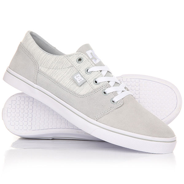 Кеды кроссовки низкие DC Tonik W Se Light Grey dc shoes кеды dc shoes tonik w se burgundy 8