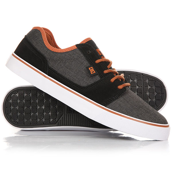 Кеды кроссовки низкие DC Tonik Se Black/Copper dc shoes кеды dc shoes tonik w se burgundy 8