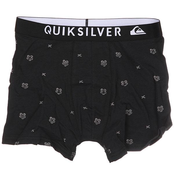 Трусы Quiksilver Boxer Poster Quiet Shade<br><br>Цвет: черный<br>Тип: Трусы<br>Возраст: Взрослый<br>Пол: Мужской