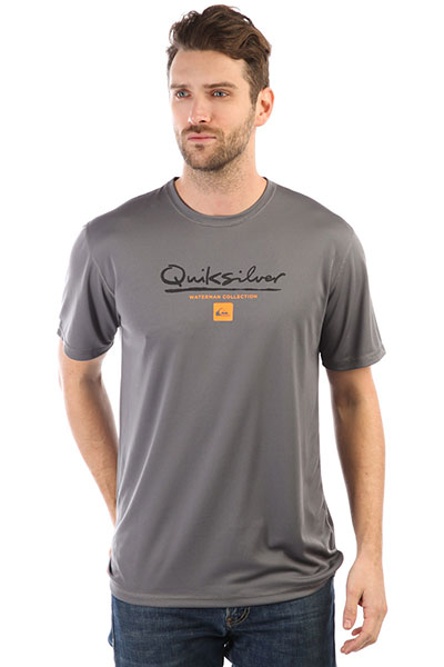 Гидрофутболка Quiksilver Gut Check Quiet Shade кошелек quiksilver anthro quiet shade page 3