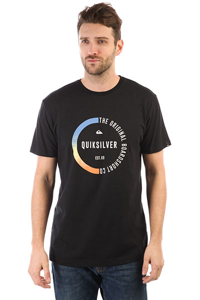 Футболка Quiksilver Ssclassirevenge Black<br><br>Цвет: черный<br>Тип: Футболка<br>Возраст: Взрослый<br>Пол: Мужской