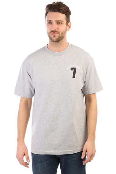 Футболка DC Lucky Seven Grey Heather рубашка в клетку dc woodale deep dyed heather grey