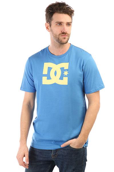 Футболка DC Star Campanula/ Lemon Mer<br><br>Цвет: синий<br>Тип: Футболка<br>Возраст: Взрослый<br>Пол: Мужской