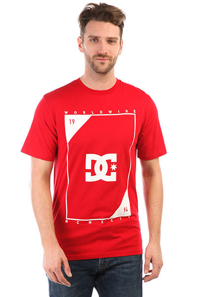 Футболка DC Middle Theory Tango Red куртка dc dcla tango red