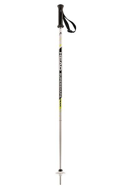 Лыжные палки Head Supershape Team 14 Mm White Black Neon Yellow словени горнолыжные курорты куплю путевку не дорого