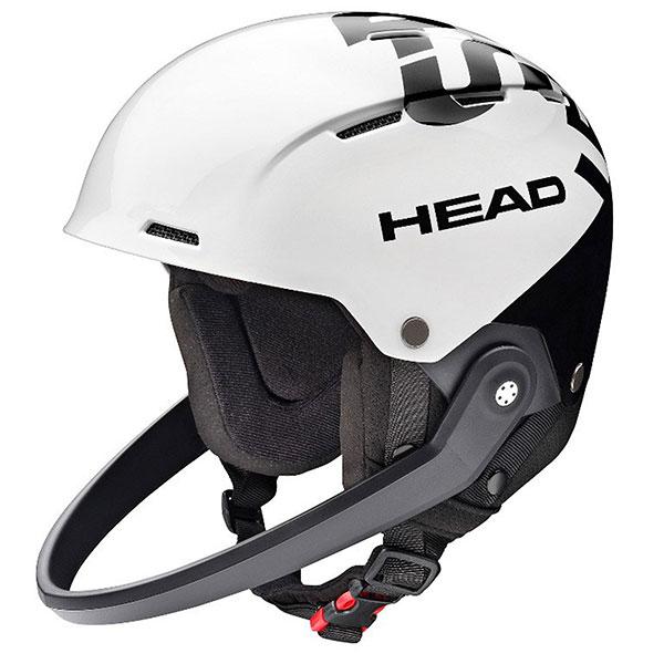 Шлем для сноуборда Head Rebels + Chinguard White/Black шлем горнолыжный head vico black