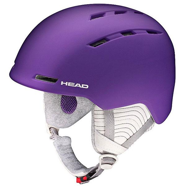 Шлем для сноуборда Head Valery PurpleЛучшие из лучших! Бестселлер в женской коллекции HEAD. Его отличительная особенность - экстремально малый вес и супер удобная посадка на голове.Технические характеристики: Облегченный пластик ABS.Вентиляция Thermal.Вентиляция маски.Подкладка из микрофлиса.Регулировка размера HEAD 3D Fit.Эргономичный воротник с регулировкой положения на шлеме.Сертификат CE EN 1077:2007 Class B.<br><br>Цвет: фиолетовый<br>Тип: Шлем для сноуборда<br>Возраст: Взрослый<br>Пол: Мужской