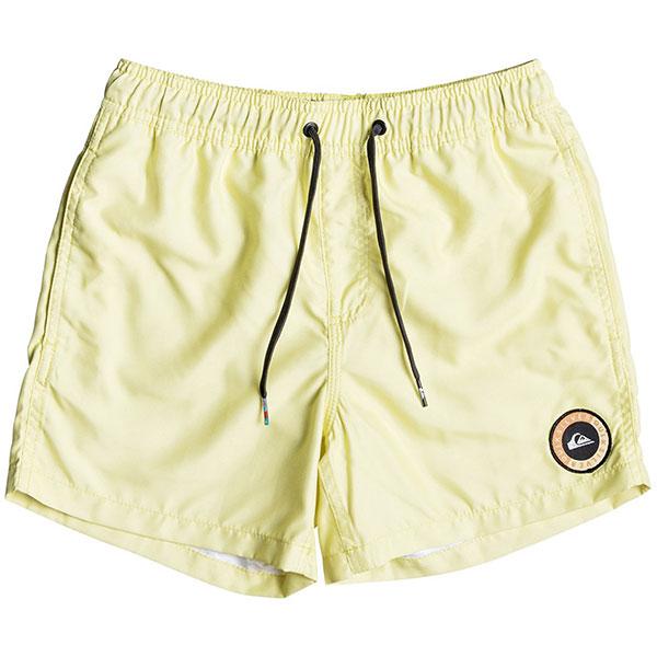 Шорты пляжные детские Quiksilver Everydayvlyth13 Elfin Yellow<br><br>Цвет: желтый<br>Тип: Шорты пляжные<br>Возраст: Детский