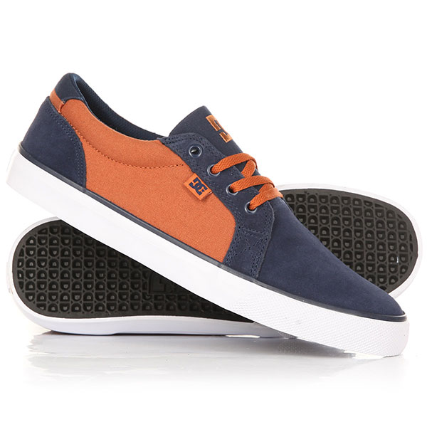 Кеды кроссовки низкие DC Council Sd Navy/Gold dc shoes кеды dc council se navy camel 8