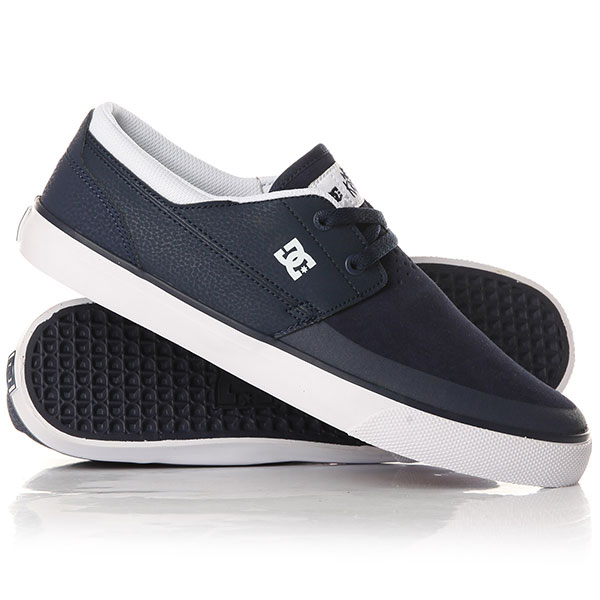 Кеды кроссовки низкие DC Wes Kremer 2 S Navy White dc shoes кеды dc heathrow se 11