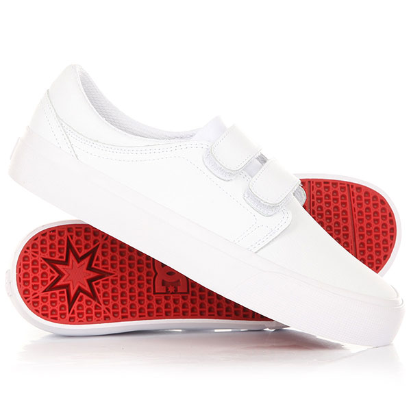 Кеды кроссовки низкие женские DC Trase V Se White/Athletic кеды кроссовки низкие женские dc trase animal