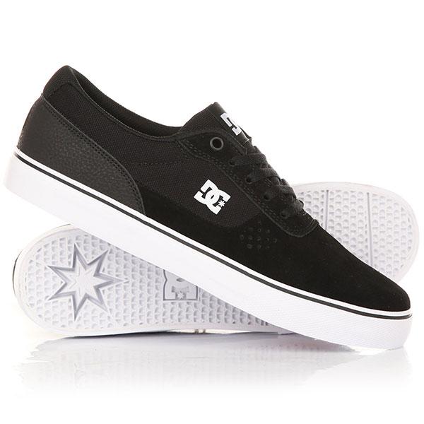 Кеды кроссовки низкие DC Switch Black/White/Black<br><br>Цвет: черный<br>Тип: Кеды низкие<br>Возраст: Взрослый<br>Пол: Мужской