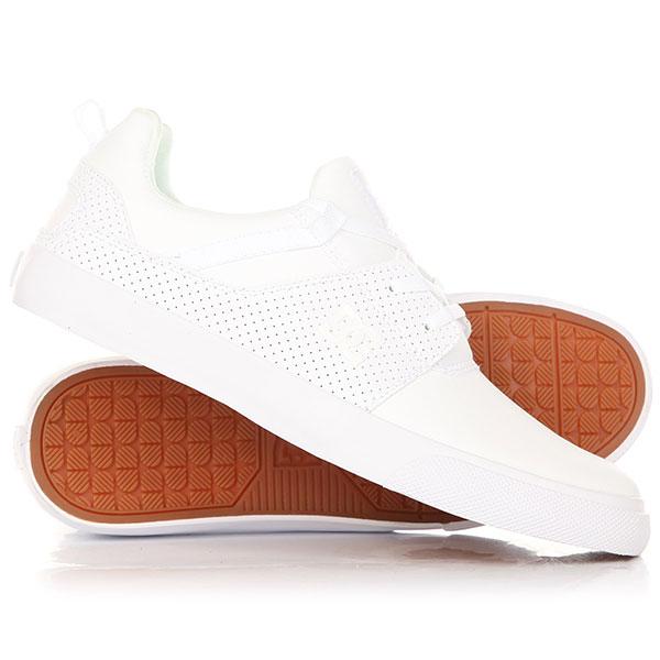 Кеды кроссовки низкие DC Heathrow Vulc White кеды низкие dc shoes heathrow m shoe xbky