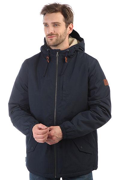 Куртка Element Stark Eclipse NavyМужская куртка с теплой подкладкой из шерпы. Не пропустите универсальную куртку на каждый день из коллекции Wolfeboro!Технические характеристики: Прочный хлопковый текстиль.Теплая подкладка из шерпы.Регулируемый капюшон.Эластичные манжеты.Нагрудный карман, карманы для рук и потайной карман.Регулируемая талия и подол.Застежка на металлическую молнию.<br><br>Цвет: синий<br>Тип: Куртка<br>Возраст: Взрослый<br>Пол: Мужской