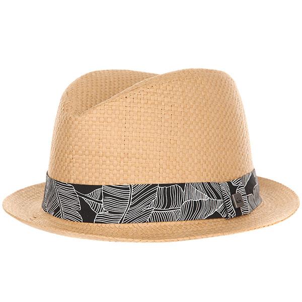 Шляпа Quiksilver Schralpsten Tobacco Brown