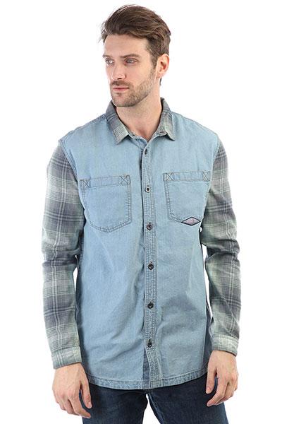 Рубашка Quiksilver Dumb&amp;Surfer Blue Used<br><br>Цвет: синий<br>Тип: Рубашка<br>Возраст: Взрослый<br>Пол: Мужской