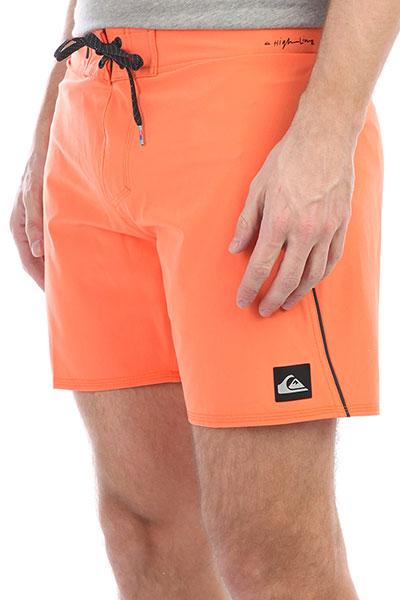 Шорты пляжные Quiksilver Highkaimana16 Cadmium Orange шорты пляжные детские quiksilver hightechyth16 real teal