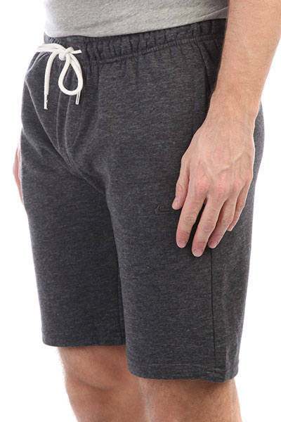 Шорты Quiksilver Everydtrackshor Dark Grey HeatherДанная модель не имеет внутренней подкладки в виде сеточки<br><br>Цвет: серый<br>Тип: Шорты<br>Возраст: Взрослый<br>Пол: Мужской