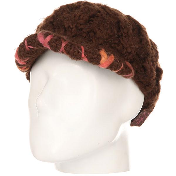 Шапка женская Dakine Ziggy Brown<br><br>Цвет: коричневый<br>Тип: Шапка<br>Возраст: Взрослый<br>Пол: Женский