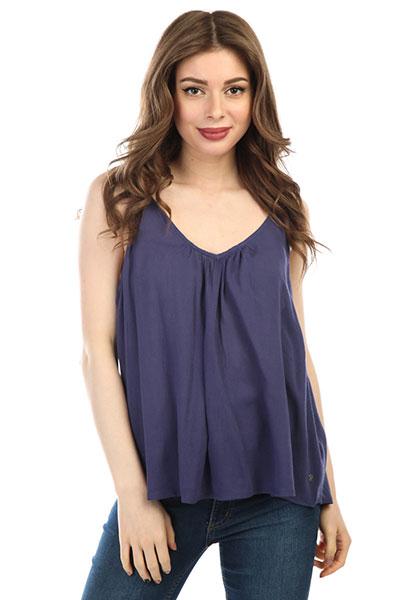 Блузка женская Roxy Localinthesky Deep Cobalt<br><br>Цвет: синий<br>Тип: Блузка<br>Возраст: Взрослый<br>Пол: Женский