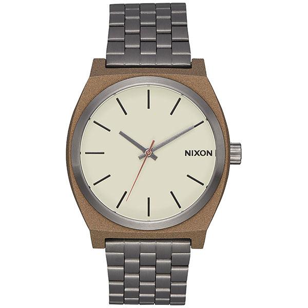 Кварцевые часы Nixon Time Teller Bronze/Gunmetal часы nixon ranger 45 ss gunmetal black