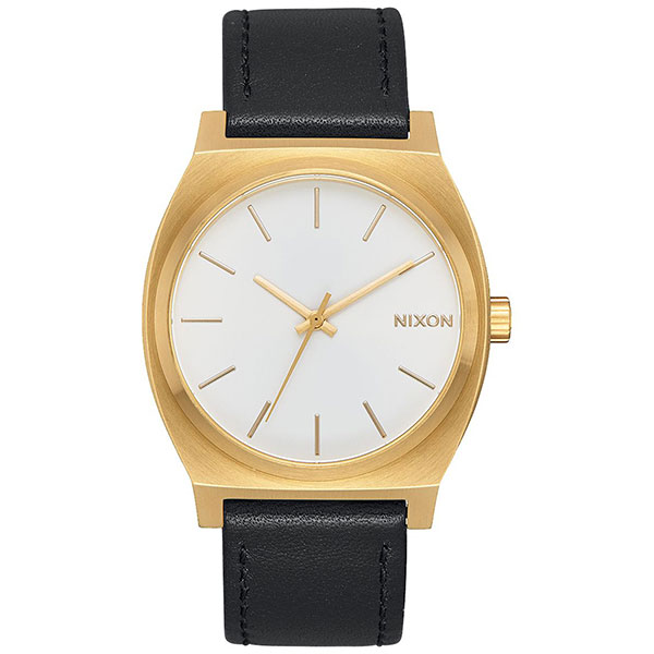 Кварцевые часы Nixon Time Teller Gold/White Sunray/Black часы женские nixon bullet all gold black